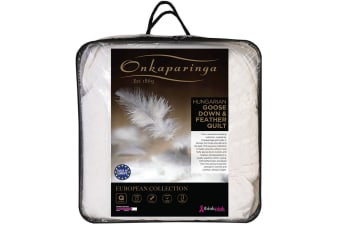 Onkaparinga Hungarian 50% Goose Down Quilt (Queen)
