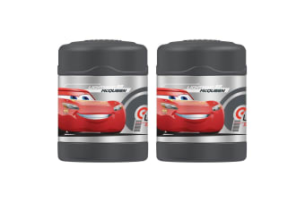 2PK Thermos Funtainer 290ml Food Jar Stainless Steel Vaccum Insulated Flask Cars