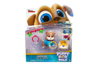 Puppy Dog Pals Light-Up Pals on a Mission Aviator Keia with Pinwheels Turn
