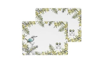 Ecology May Gibbs Placemats 30x40cm Set of 2 Wattle