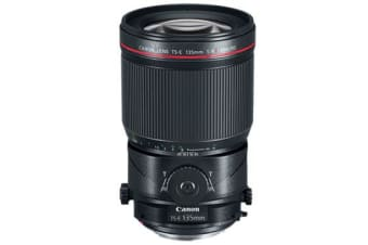 New Canon TS-E 135mm f/4L Macro Tilt-Shift Lens (FREE DELIVERY + 1 YEAR AU WARRANTY)