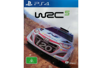 WRC 5 PS4 PlayStation 4 Game - Disc Like New