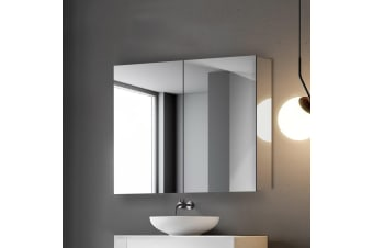 Cefito Bathroom Mirror Cabinet Vanity Stainless Steel Shaving Medicine 600x720mm