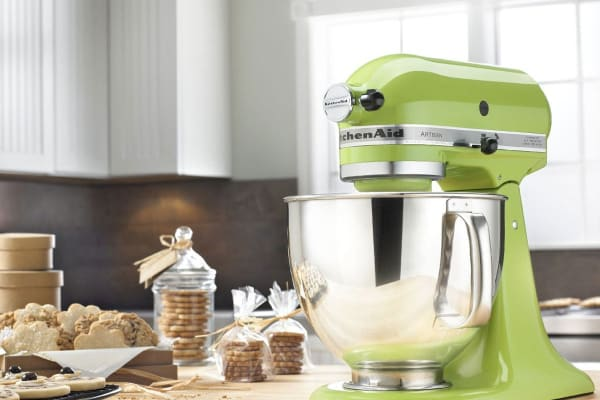 dick smith kitchenaid ksm150 artisan stand mixer green apple
