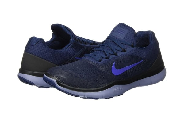 Nike Men's Free Trainer V7 Shoe (College Navy/Deep Royal Blue, Size 11.5)