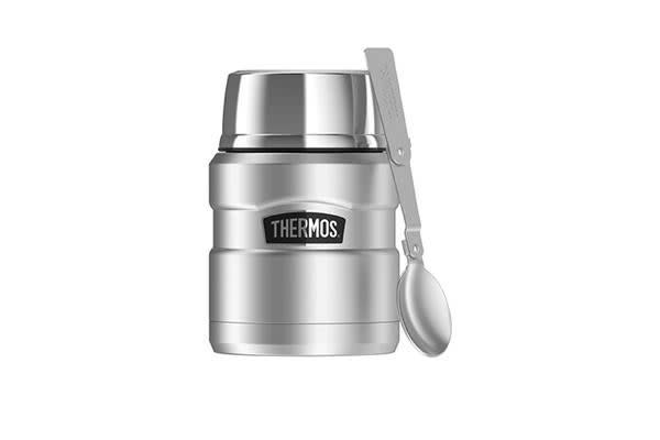 Thermos Stainless King Vacuum Insulated Food Jar 470ml Stainless Steel