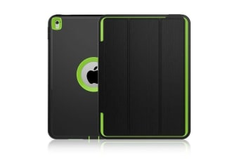 Heavy Duty Shockproof Case Smart Magnetic Cover For iPad Mini 4-Green