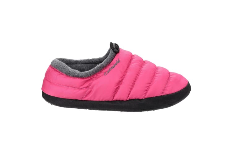 Cotswold Camping Womens Slippers (Pink) (Small)