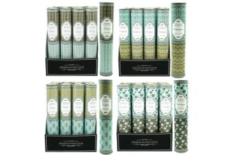 12 x Premium Fragrance Incense 30 Sticks + Holder (4 Assorted Scents)