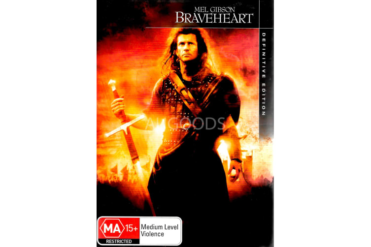 BraveHeart Definitive Edition - Region 4 Rare- Aus Stock DVD PREOWNED: DISC LIKE NEW