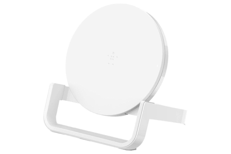 Belkin Boost Up Wireless Charger 10W Qi Charging Pad Stand f/ iPhone/Samsung WHT