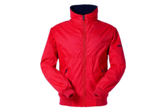 Musto Mens Snug Blouson II Showerproof Jacket (True Red/True Navy)