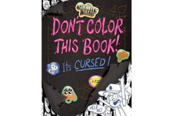 Gravity Falls Don't Color This Book! - It's Cursed!