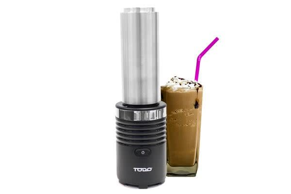 TODO Personal Health Blender with Thermo Stainless Steel Drink Bottle - Black