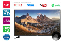 "Kogan 40"" LED TV (Series 7 QF7000) including Google Chromecast"