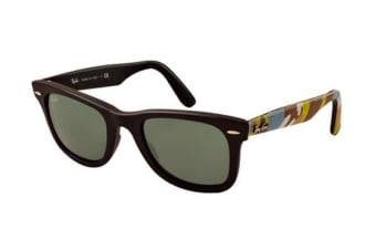 Ray Ban RB2140 WAYFARER - Matte Black (Green lens) Unisex Sunglasses
