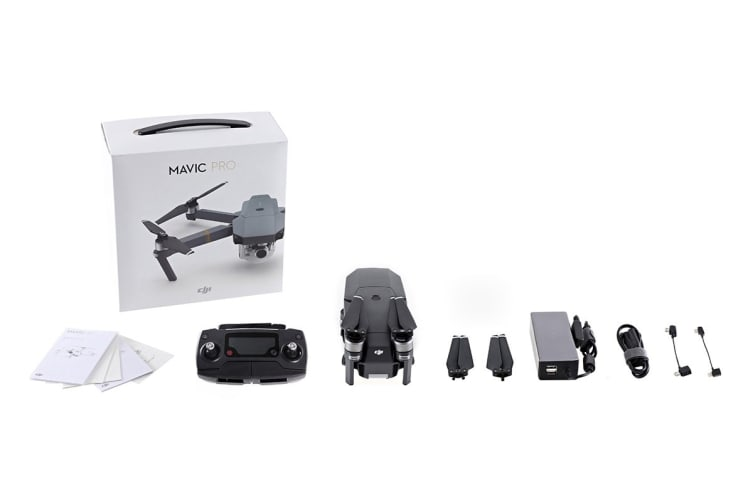 Mavic Pro Drone Fly More Combo - Official DJI Refurbished