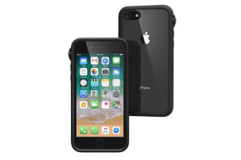 Catalyst Impact Protection Case Cover for Apple iPhone 7/8 Clear Stealth Black