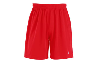 SOLS Childrens/Kids San Siro 2 Sport Shorts (Red) (10yrs)