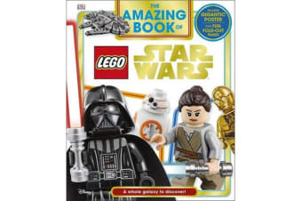The Amazing Book of LEGO (R) Star Wars - With Giant Poster