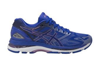 innovative design cb027 062ab ASICS Women's Gel-Nimbus 19 Running Shoe (Blue Purple/Violet/Airy Blue,  Size 7.5)