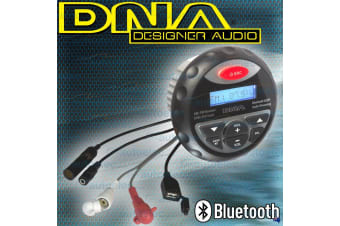 DNA BLUETOOTH BOAT MARINE RADIO WATERPROOF DUSTPROOF AM FM MP3 USB IPOD MA3BT