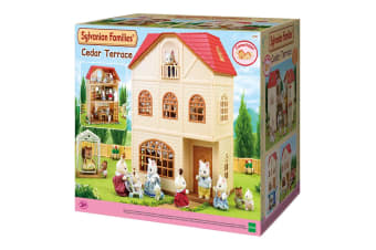 Sylvanian Families Homes - Cedar Terrace House