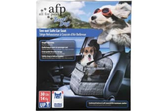 Dog Portable Car Seat All For Paws See Out Safe Air Cushion Travel Box Booster