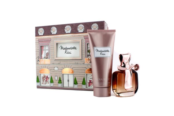 Nina Ricci Mademoiselle Ricci Coffret: Eau De Parfum Spray 80ml/2.7oz + Body Lotion 200ml/6.8oz (2pcs)