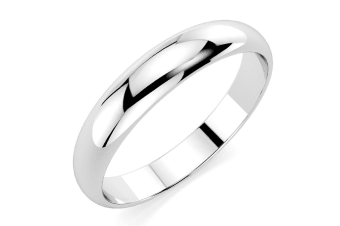.925  Russian Wedding Ring IV-Silver Size US 8
