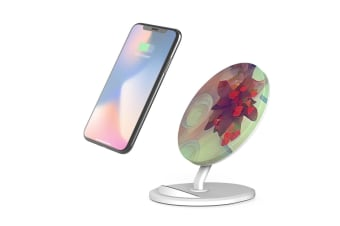 QI Wireless Charger For iPhone 11 Samsung Galaxy S20+ S20 Ultra S10+ Retro Start