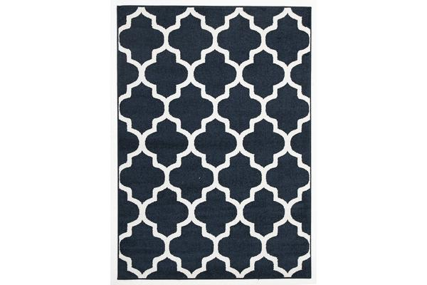 Indoor Outdoor Morocco Rug Navy 230x160cm