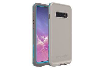 Lifeproof Galaxy S10 FRE Case Waterproof Dirtproof Snowproof Dropproof Cover for Samsung - Grey & Blue Body Surf