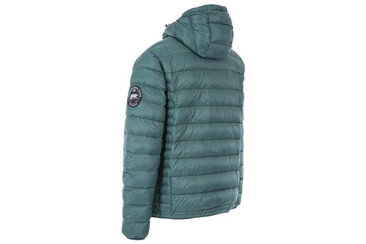 Trespass Mens Whitman II Down Jacket (Forest Green) (S)