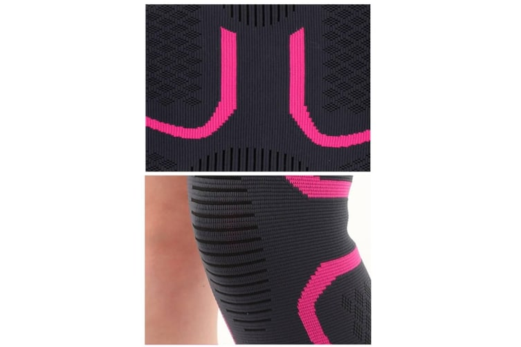 Male And Female Outdoor Sports Kneecap For Mountaineering Bodybuilding Black S