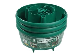 Garland Plastic Plant Halos (Pack Of 3) (Green) (Pack Of 3)