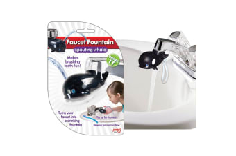 Jokari Whale Faucet Fountain Sink Tap Water Drinking Spouting