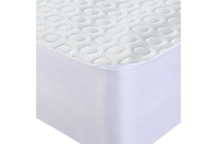Waterproof Fully Fitted Cooling Mattress Protector QUEEN