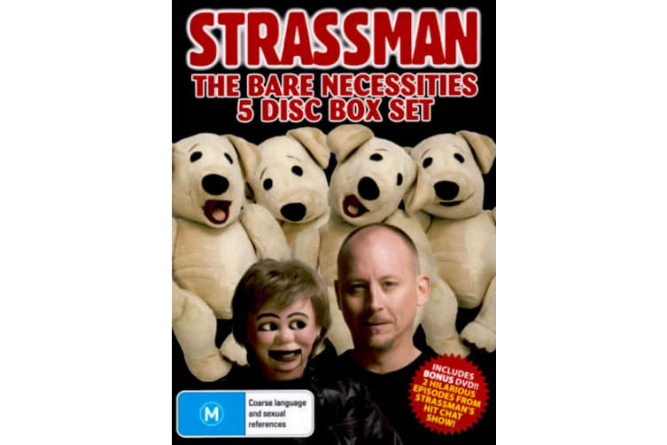 STRASSMAN - THE BARE NECESSITIES -Comedy Rare- Aus Stock DVD PREOWNED: DISC LIKE NEW