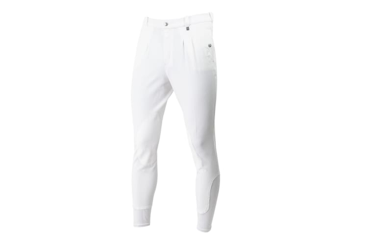 Mark Todd Mens Auckland Breeches (White) (30 inches)
