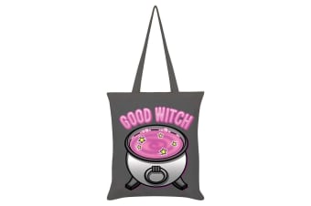Grindstore Good Witch Bad Witch Double Sided Tote Bag (Grey)