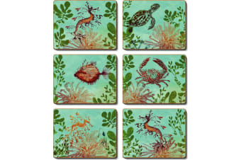 Cinnamon Ocean Depths Placemat Set of 6
