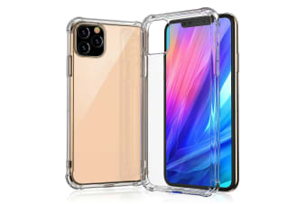 iPhone 11 6.1 Case Clear Heavy Duty 2019 ShockProof TPU Bumper Cover