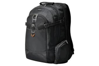 "Everki EKP120 Titan Laptop Backpack 18.4"" Checkpoint friendly design water resistant weather cover."