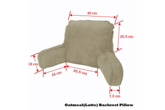Standard Backrest Pillow Oatmeal (Latte)