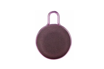 Mini Bluetooth Speaker Portable Subwoofer Sound for Outdoor Sports  PINK