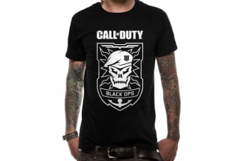 Call Of Duty Unisex Adults Skull T-Shirt (Black)