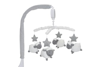 Living Textiles Musical Cot Mobile Sheep