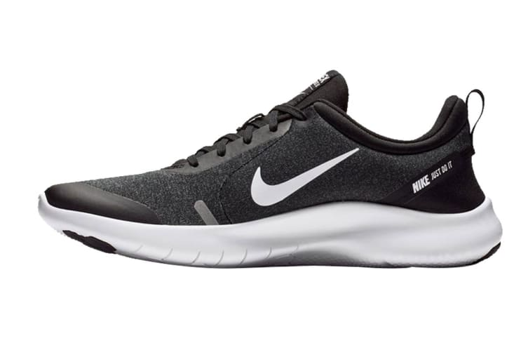 Nike Men's Flex Experience RN 8 (Black/Grey, Size 9.5 US)
