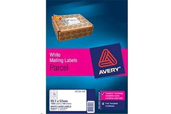 AVERY LASER LABEL L7173-100 100 SHEETS